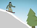 Скоростной спуск на сноуборде