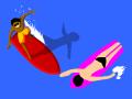 Сэм на серфинге