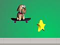 Собака на скейте