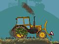 Мощный трактор