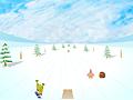 Спанч Боб сноубордист