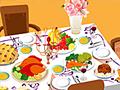 Сервировка стола на день благодарения