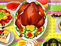 Сервировка стола в день благодарения