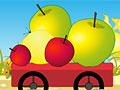 Сколько яблок в тележке?
