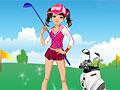 Девочка гольфа