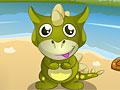 Уход за малышами динозаврами