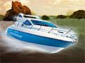Моторная лодка 3Д