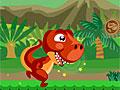 Супер прыжки динозавра