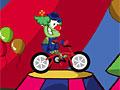 Цирковая езда на велосипеде