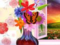 Ваза с весенними цветами