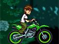 По земле на мотоцикле