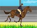 Прыжки лошади-чемпиона