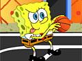 Спанч Боб играет в баскетбол