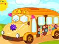 Оформление школьного автобуса