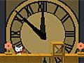 Часовой механизм кота