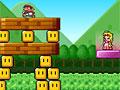 Марио прыгает по блокам