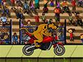 Скуби Ду делает трюки на велосипеде