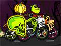 Хэллоуин - велосипедная гонка