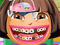 Дора у стоматолога