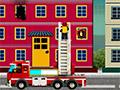 Пожарная машина ЛЕГО