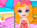 Малышка Барби на пикнике