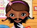 Доктор Плюшева бреет бороду