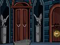 Побег от вампира из готического замка
