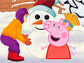Зимнее детство свинки Пеппы