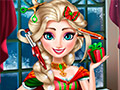 Реальные рождественские стрижки Эльзы