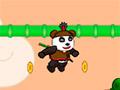 Прыжки панды ниндзя