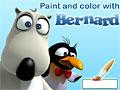 Бернард раскраска