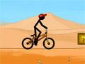 Фристайл Стикмена на велосипеде