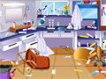 Уборка в школьной лаборатории