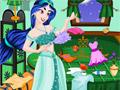 Беспорядок в спальне принцессы Жасмин