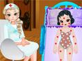 Малышка Белоснежка в замороженной больнице
