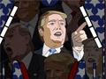 Дональд Трамп играет в пинбол