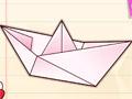 Творческое оригами Хелло Китти