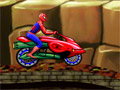 Человек-паук - гонщик по горам