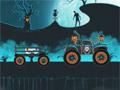 Хэллоуинский грузовик-монстр