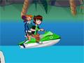 Бен 10: гонка на лодках