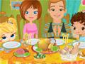 Семейный ужин на день благодарения