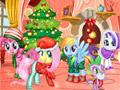 Мой маленький пони: новогодняя вечеринка
