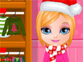 Малышка Барби готовится к Рождеству