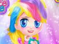 Прически в стиле маленьких пони