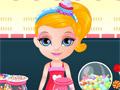 Малышка Барби в магазине сладостей