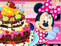 Шоколадный торт Минни Маус