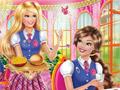 Очаровательная Барби в школе