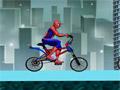 Перекрученная гонка на BMX человека паука