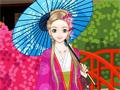 Красивая японская принцесса