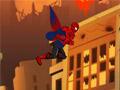 Смешной летающий Человек-паук